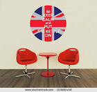 Keep Calm and Put th Kettle on Union Jack Circle - Vinyl Wall Art Poster