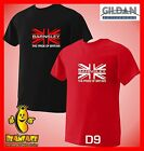 BARNSLEY T SHIRT union jack pride  sports fc funny MENS small to 5XL D9