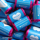 PROMOTIONAL COMPANY LOGO PERSONALISED LOVE HEART SWEETS WEDDING PARTY FAVOURS