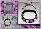 Braided Friendship Bead Bracelet Jewellery Making Kit Instructions U Pick Colour