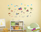 Farm & Animals wall stickers (barn,  tractor,  horse,  cow,  hens,  sheep) -removable