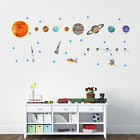 Solar System Planets (Earth, Sun, Jupiter, Dwarf planets) wall decals -removable
