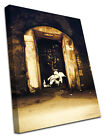 2345 Grafitti Canvas Banksy Street Modern Wall Art Print