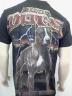 PIT BULL T-SHIRT NEW MENS TEE SIZE SM MED LG XL 2X 3X RUDE DOGS PITBULL