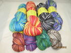 Purple Fleece Handpainted Merino/Cashmere/Nylon Sock Yarn - 8 Colorways