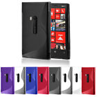 S LINE WAVE GEL CASE COVER FOR NOKIA LUMIA 920 + SCREEN PROTECTOR