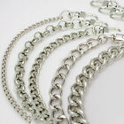 Bag metal chain strap silver shoulder strap handbag purse handle