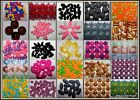 Mixed Acrylic Craft Beads U Pick Colour Size Shape Free UK P&P Offer