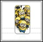 Despicable Me Minions Iphone 4 / 4s / 5 - Black or White Hard Case ♥ Cute ♥