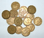 Great Britain/UK 1937 - 1952 - George VI Brass Threepence - Select the Date