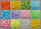 Glass Seed Beads & Love Heart or Round Bead Mix U Pick Colour Free UK P&P Offer