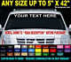 "CUSTOM WINDSHIELD TEXT LETTERING 5"" x 42"" VINYL DECAL STICKER BUSINESS BOAT SIGN cheap"