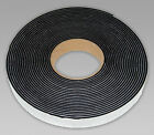 NEOPRENE RUBBER SELF ADHESIVE STRIP 5MTR 3MM, 6MM, 10MM THICK