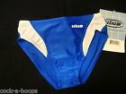 HIND Blue Streamline Racer Brief Swimsuit NWT - Boy's Sizes - Made in the USA