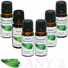 10ml Carrier Oil - Argan Grapeseed Jojoba Neem Sweet Almond Wheatgerm Castor