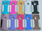 CHROME RIGID snap-on fashion style mirror cover skin case FOR apple iphone 5