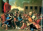 Photo/Poster - Rape Sabine Women - Poussin Nicolas 1594 1665