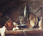 Art Photo Print - Fast Day Meal - Chardin Jean Baptiste Simeon 1699 1779