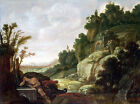 Photo/Poster - Mountain Landscape With Narcissus - Pynas Jacob 1592 95 Amsterdam