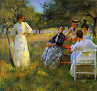 Art Photo Print - In Orchard - Tarbell Edmund Charles 1862 1938