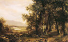 Art Photo Print - Landscape With Wooded Path - Durand Asher Brown