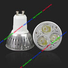 5PCS 3W/4W/5W GU10/E27/MR16 White/Red/Blue/Green Led Bulb High Power Spotlight