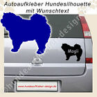 Chow Chow | Hunde Autoaufkleber mit Wunschname | Hundeaufkleber 412-S