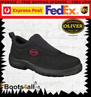 New Oliver Work Boots Athletic Shoes Runner Steel Toe Slip On FREE EXPRESS 34610
