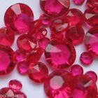 HOT PINK WEDDING TABLE DIAMONDS SCATTER CRYSTALS