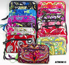 NWT 100% Auth Vera Bradley Zip Around Wallet Wristlet NEW