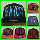 BRAND NEW FLAT PEAK VINTAGE NEWYORK SNAPBACK BASEBALL CAP WITH TAGS
