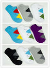 3 pairs Pack of High Quality Laulax Men Finest Cotton Argyle Trainer Sock Select