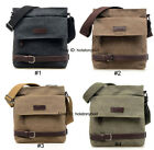 2014 New Men' Vintage Canvas Messenger Shoulder Bag Satchel Casual Free shipping