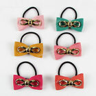 PH001 Womens Girls Hair Butterfly Tie Ponytail Holders Hair Accessories