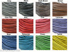 1mm Cowhide Leather Cord - Choose Color & Length