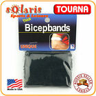 2x UNIQUE 1 inch Bicep Bands Made of Thick USA Terry Cotton High Sweat Absorbant