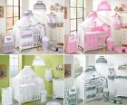 14 Piece/Pc BABY BEDDING SET COT BED QUILT/DUVET PILLOW CASE COVER 140x70 120x60
