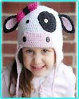 Baby Crochet Animal Hat Beanie Cow Knit Crochet Hat Beanie Cap /Baby Gift
