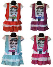 Girls LOVELY Party Summer Dress & Fake Shrug 1 Piece Set /Top, Skirt 3-12 years