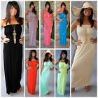 MIRACLE FIT MAXI DRESS STRAPLESS MAXI LONG LENGTH SOFT JERSEY KNIT 7 COLORS!