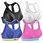 Maximum Impact Level 4 Racer Back Sports Bra Black White 32-40 A B C D DD E F
