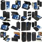 Black Flip/Stand/Card Holder Leather Cover Case For Samsung Galaxy S3 i9300