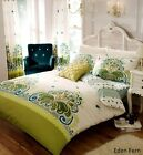 NEW 3 PCS DUVET QUILT COVER BEDDING SET WITH PILLOWCASE IN SINGLE DOUBLE KING