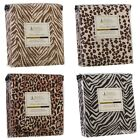 Duvet Cover and Shams 1800 Series Animal Prints King Queen Full & Twin Available