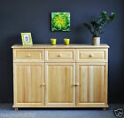 NEW CHEST OF DRAWERS * SOLID WOODEN BEDROOM FURNITURE *OAK* WALNUT* ALDER* PINE