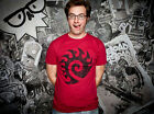 StarCraft II 2 Zerg Logo Soft Blizzard Officially Licensed Adult T-Shirt S-2XL