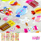 Food Fruit Candy Dessert Cake Crystal Computer Phone Scrapbooking Stickers CR005