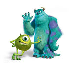 Monsters Inc Mike Sully Wall Vinyl Adhesive Logo Sticker Decal Print Multi Sizes