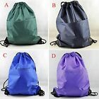 "String Bags Drawstring Backpack Tote School Bag Book bags Sport Pack bag 19""x15"""