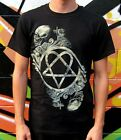 Him - Heartagram - Bone Sculpture - Brand New T Shirt - Var Szs - OFFICIAL